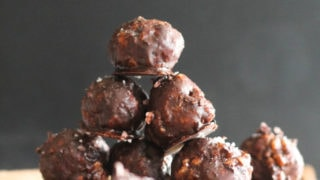Dark Chocolate Sea Salt Truffles (V&GF)