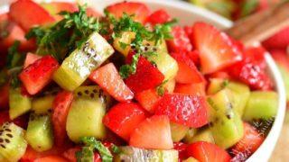 Strawberry Kiwi Fruit Salad