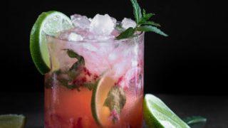 Refreshing Strawberry Mojito Cocktail