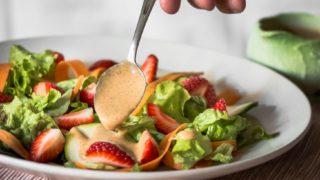 Tart and Fruity Strawberry Vinaigrette