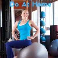 15 Minute Lower Body Stability Ball Workout Do At Home