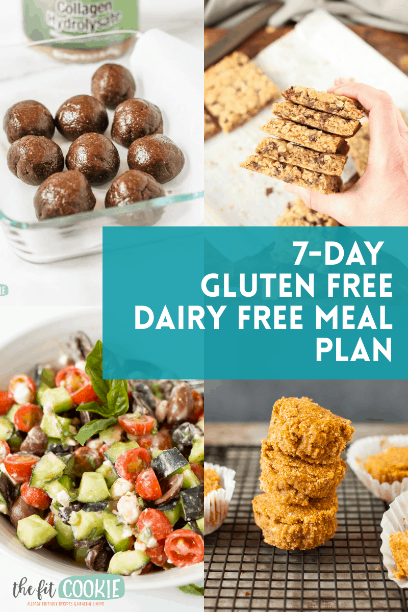 7 Day Gluten Free Dairy Free Meal Plan • The Fit Cookie