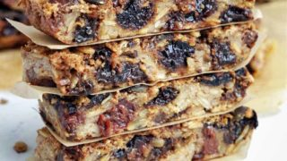 Healthy Oatmeal Breakfast Bars To-Go (Gluten Free, Vegan)