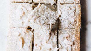 Easy Keto Blondies Recipe | Nut-Free, Gluten-Free, Dairy-Free