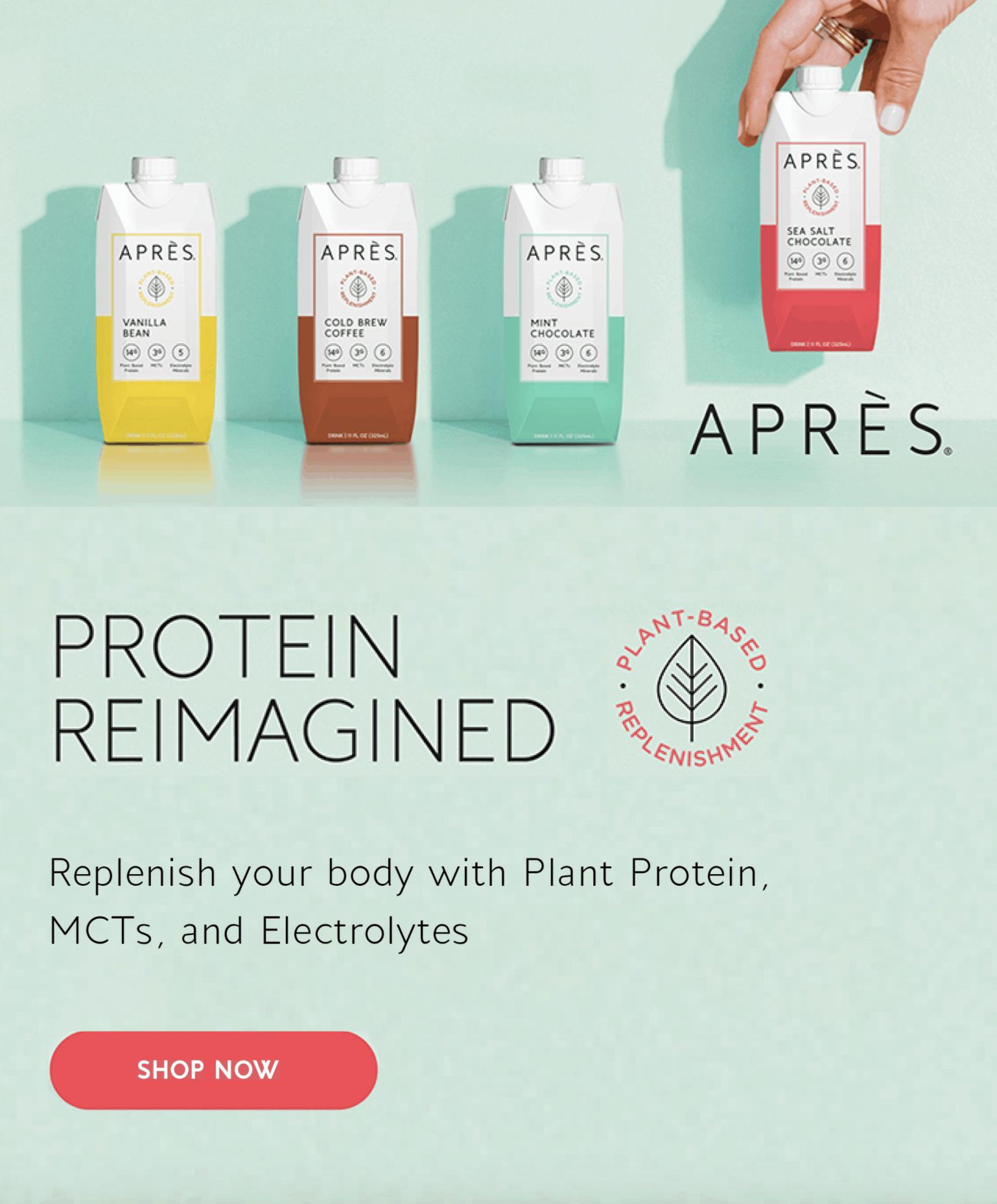Apres plant protein