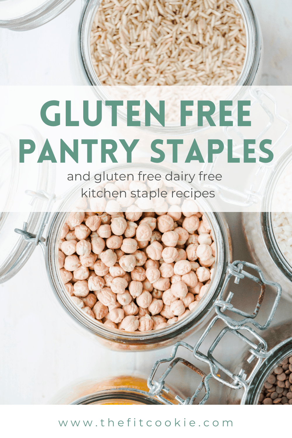 gluten free pantry staples and recipes