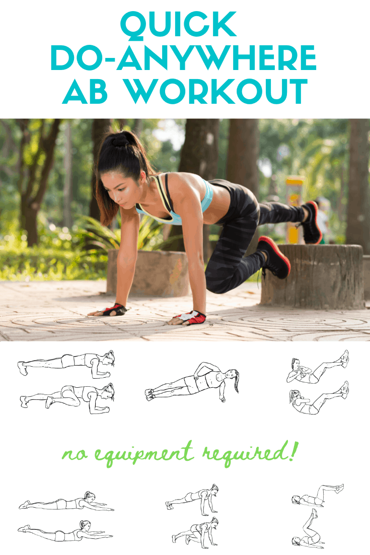 do anywhere ab workout