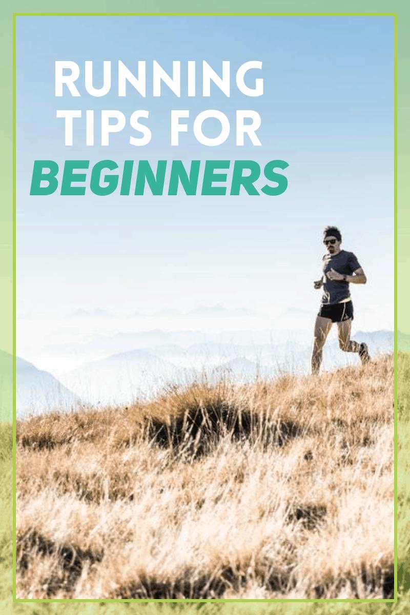 man running outside - running tips for beginners