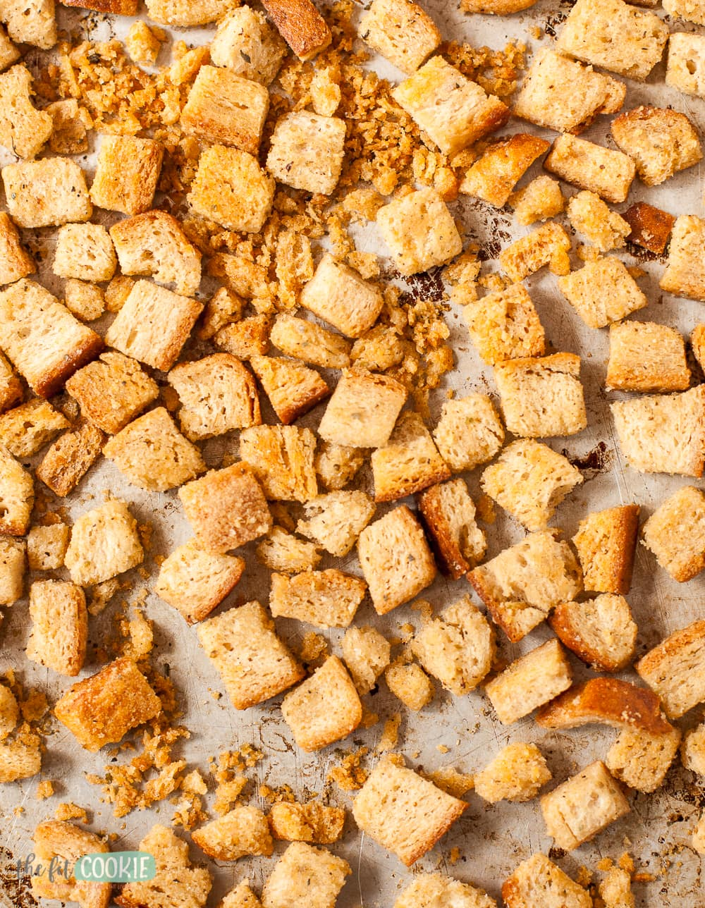 close up photo of gluten free croutons