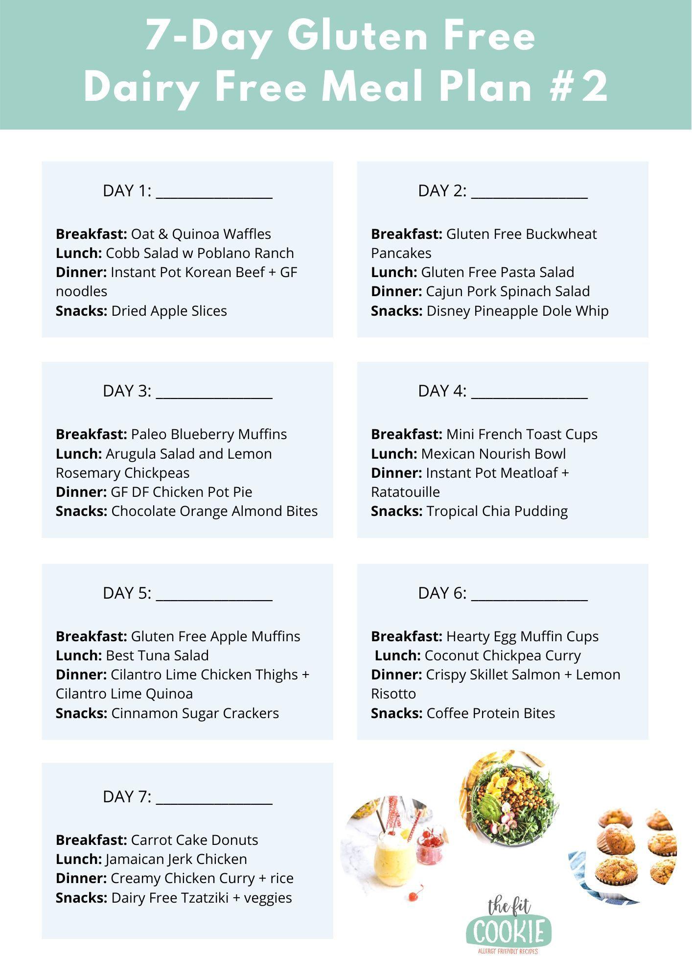 image of printable menu page
