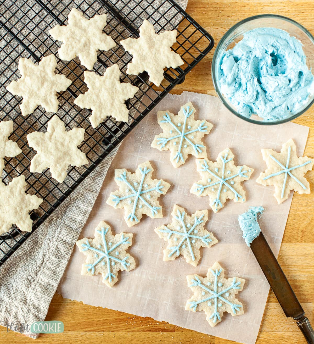 decorated gluten free sugar cookies
