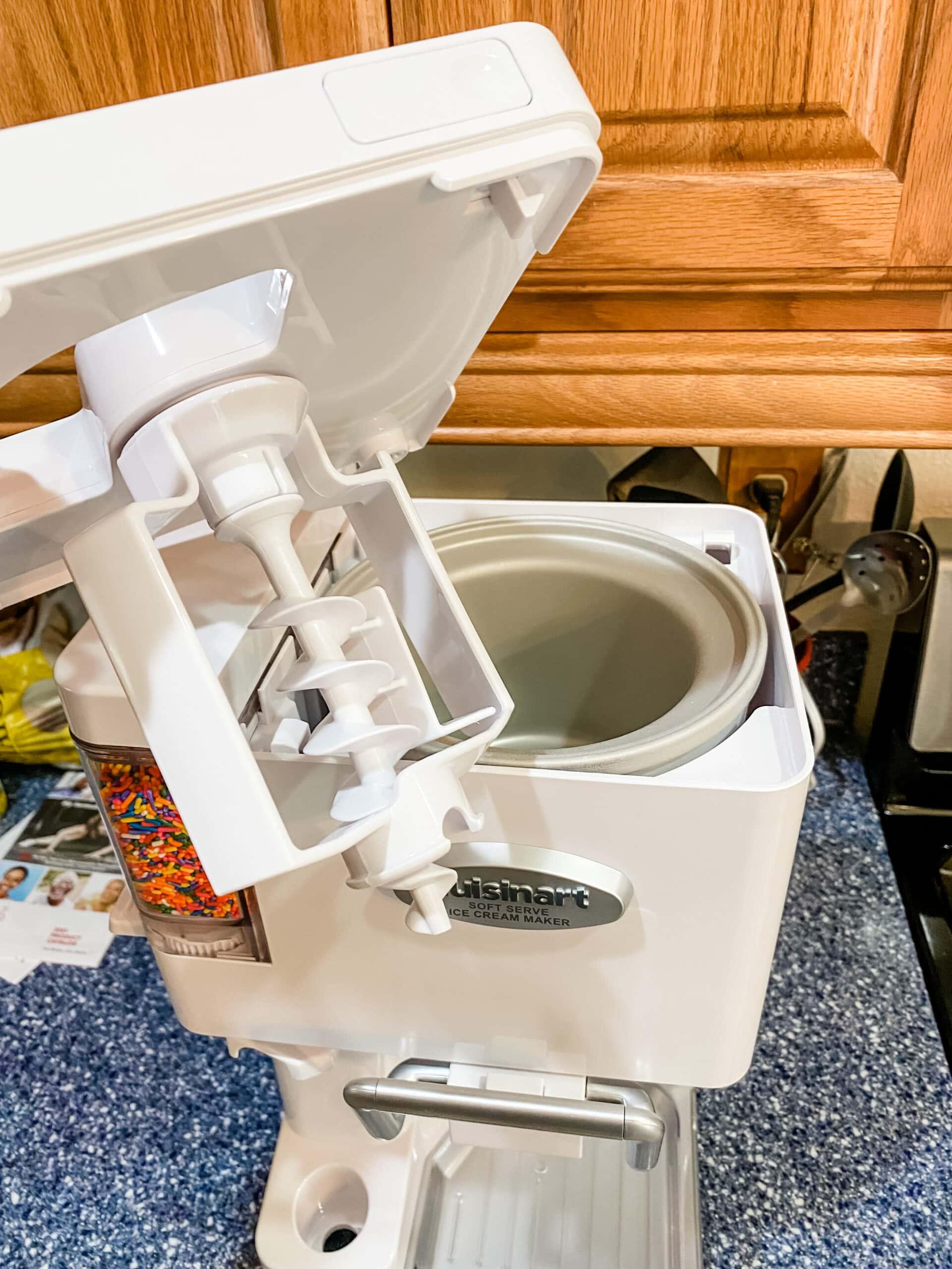 cuisinart soft serve ice cream maker machine